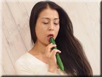 惠子 生蔬菜插入手淫
