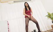 I make masturbation in stockings Ryoko 13