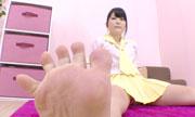 女性の足の裏 しんぴな娘たち 2