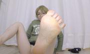 女性の足の裏 しんぴな娘たち 25