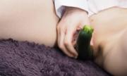 Fresh vegetables masturbation. Yu 10
