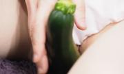 Fresh vegetables masturbation. Yu 9