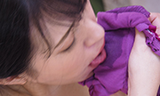 Masturbation with wetly panty Nahoko 17