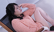 The woman masturbation with expressionless Nahoko 17