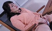 The woman masturbation with expressionless Nahoko 18
