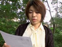 真奈美 位置x小娜〜公園廁所自畫像小娜〜